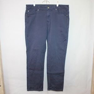 Peter Millar Men's Size 36 Blue Straight Pants